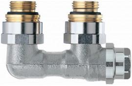 H ventilis radiatoriams kampinis, dvivamzdei sistemai, Vecolux 0531-50.000