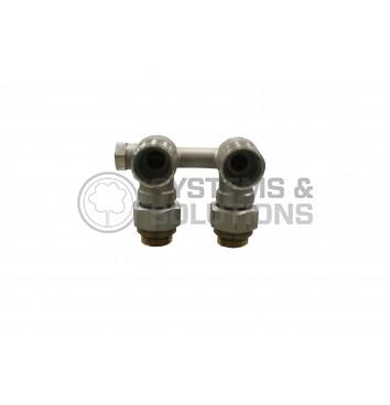 H ventilis radiatoriams 1/2, kampinis, vienvamzdei sistemai 1260140