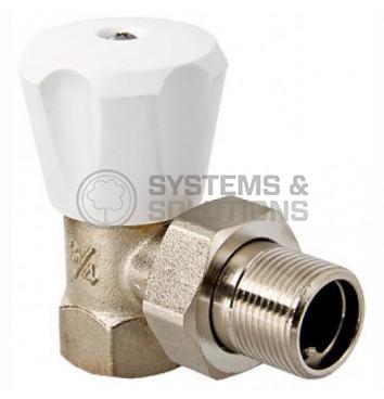 Uždarymo-reguliavimo ventilis DN20,kampinis, rankinio valdymo 3226N0505EC