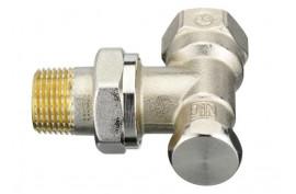Uždarymo ventilis RLV-S be drenažo DN15, kampinis (003L0123)