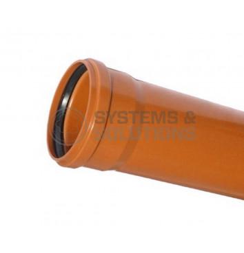 Vamzdis DN160/500/4,0 mm KGEM SN4 su mova