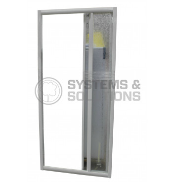 Sienelė dušui E PD 80/90 Dekor plastikas