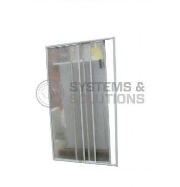 Sienelė dušui E PD 110/120 Dekor plastikas