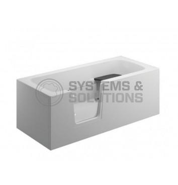Vonia akrilinė Tiwi 170x75 (be sienelių)