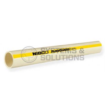 Vamzdis FlowGuard Gold CTS CPVC 1/2 po 3m (karštam vandeniui,Nibco)