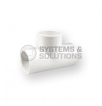 Trišakis PVC Kv/Kv 3/4 (šaltam vandeniui,Nibco)