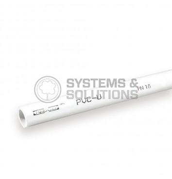 Vamzdis PVC (Sch40) 1/2 po 3m (šaltam vandeniui,Nibco)