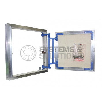 Revizinis liukas 30/60 aliuminio konstrukcija (po plytelėmis)