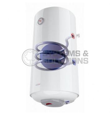 Vertikalus kombinuotas vandens ššildytuvas AQUA HOT, 120 ltr. (Dešnininis)