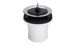 Išleidimo ventilis praustuvui 11/2x70 (su kamščiu, nerūdijančio plieno) Viega
