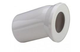 WC prijungimo alkūnė DN100/22,5 (balta)