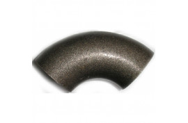 Alkūnė plieninė  d100 (114,3x3,6)juoda (virinama)