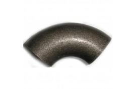 Alkūnė plieninė  d125(139,7x4,0)juoda (virinama)