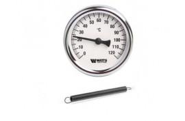 Bimetalinis termom. TAB 63/120 (dedamas ant vamzdžio) WATTS