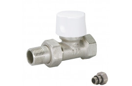 Ventilis termostatinis 1/2 tiesus BIANCHI