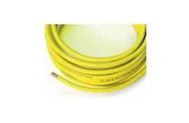 Vamzdis lankstus dujoms DN15 (EUROGAS,rulone,geltonas)